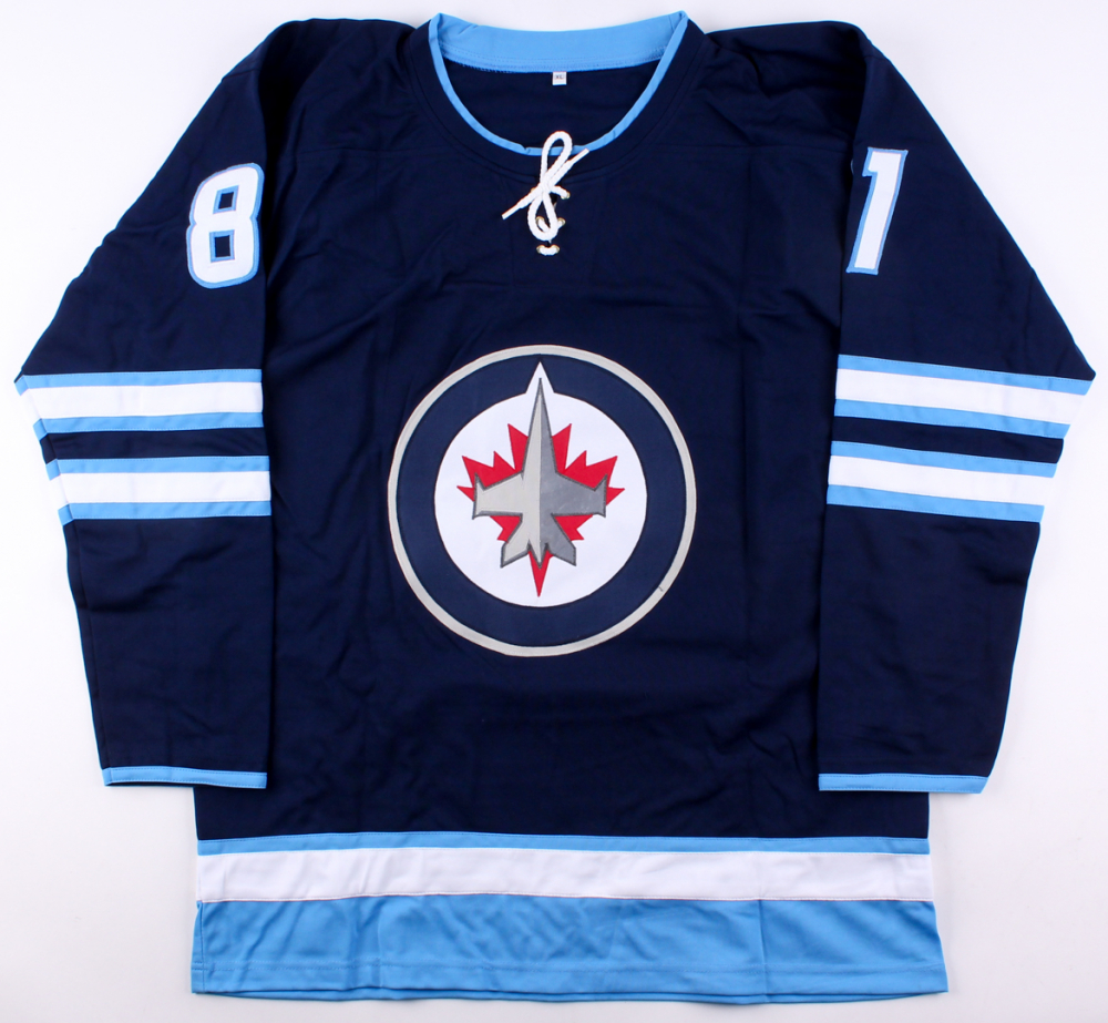 d9367bd1e3b Kyle Connor Signed Jets Jersey (Beckett COA) at PristineAuction.com