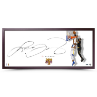 "LeBron James Signed Cleveland Cavaliers ""The Show"" 20x46 Custom Framed Photo (UDA COA) at PristineAuction.com"