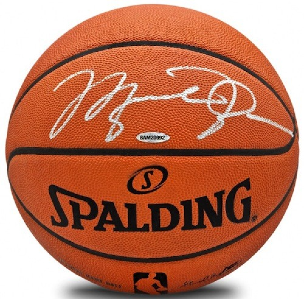 Michael Jordan Signed Official NBA Game Ball (UDA Hologram) at PristineAuction.com