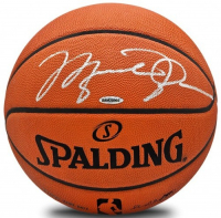 Michael Jordan Signed Official NBA Game Ball (UDA COA) at PristineAuction.com
