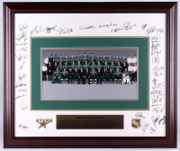2003-04 Dallas Stars 30x36 LE Custom Framed Photo Team-Signed by (41) with Ron Tugnutt, Niko Kapanen, Andy Moog, Teppo Numminen, Jon Klemm, Richard Matvichuk (Dallas Stars LOA) at PristineAuction.com