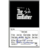 Francis Ford Coppola Signed Godfather 12x18 Movie Poster (Beckett COA)