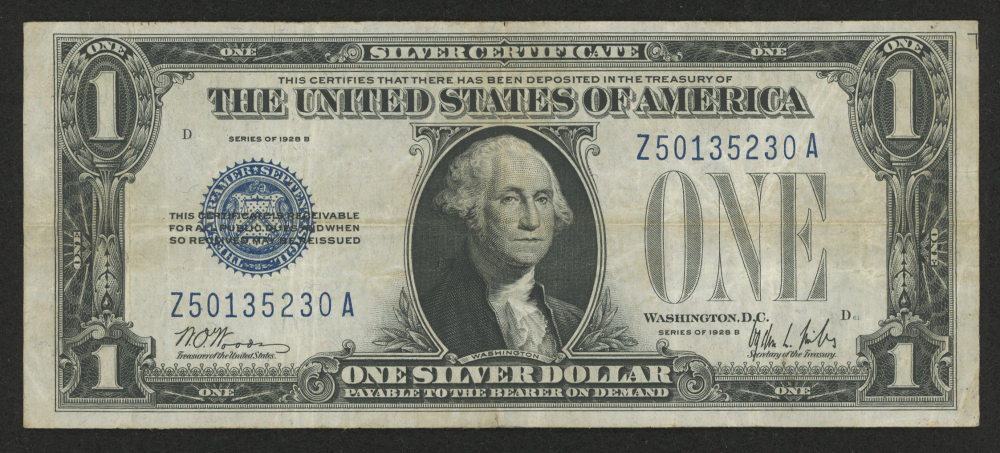 How Much Is A $1 Silver Certificate Worth - Best Design Sertificate 2018