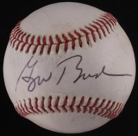 George W. Bush Signed Baseball (JSA LOA)