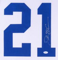 Deion Sanders Signed Cowboys 35x43 Custom Framed Jersey (JSA Hologram) at PristineAuction.com