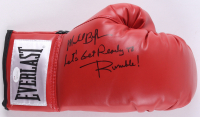"Michael Buffer Signed Boxing Glove Inscribed ""Let's Get Ready to Rumble!"" (JSA COA) at PristineAuction.com"