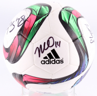 Soccer Ball signed by (9) Becky Sauerbrunn, Carli Lloyd, Kelley O'Hara, Shannon Boxx (JSA COA) at PristineAuction.com