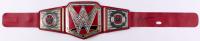 Hulk Hogan Signed WWE Championship Belt (JSA COA)