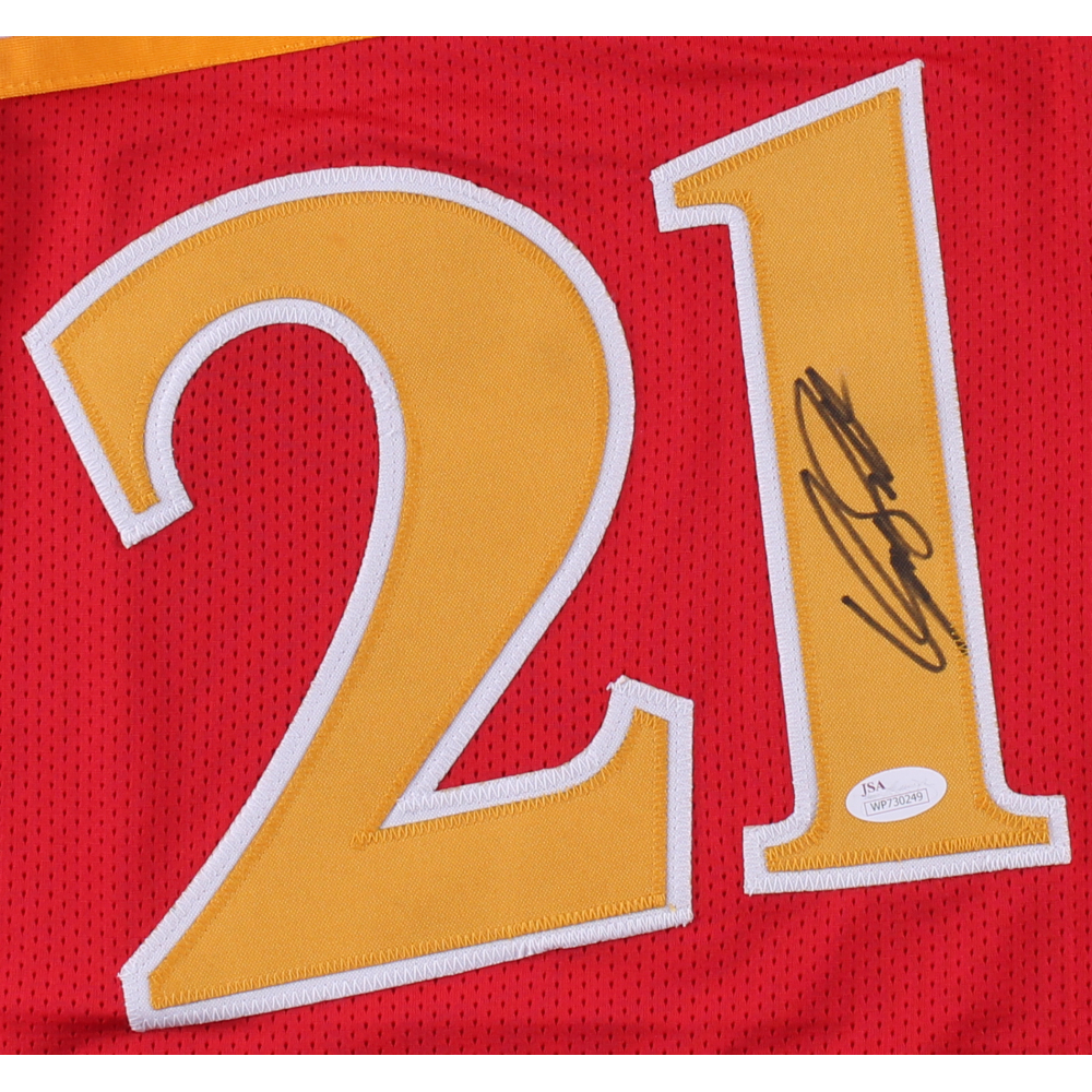 Dominique Wilkins Signed Hawks Jersey (JSA COA) at PristineAuction.com ...