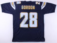 Melvin Gordon Signed Chargers Jersey (Beckett COA) at PristineAuction.com