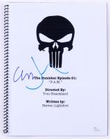 """Jon Bernthal & Ebon Moss-Bachrach Signed """"The Punisher Episode 01: 3 AM"""" Full Episode Script (JSA COA)"""