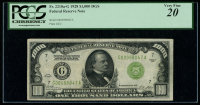 1928 $1,000 One Thousand Dollars Federal Reserve Note (PCGS 20) at PristineAuction.com