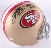"Ricky Watters Signed 49ers Full-Size Helmet Inscribed ""SB XXIX Champs"" (Radtke COA)"