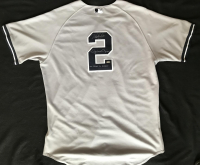 "Derek Jeter & Mariano Rivera Signed Jeter 2011 Game-Used Yankees Jersey Inscribed ""One Closer to Another"" (Stiener COA & MLB Hologram)"