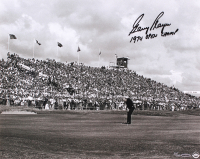 "Gary Player Signed ""Putting For The Win"" 16x20 Limited Edition Photo Inscribed ""1974 Open Champ"" (UDA COA)"