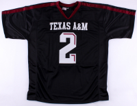 """Johnny Manziel Signed Texas A&M Aggies Jersey Inscribed """"'12 Heisman"""" (JSA COA) at PristineAuction.com"""