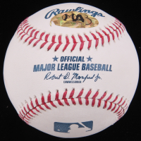 "Wade Boggs Signed OML Baseball Inscribed ""HOF 05"" (MAB Hologram) at PristineAuction.com"