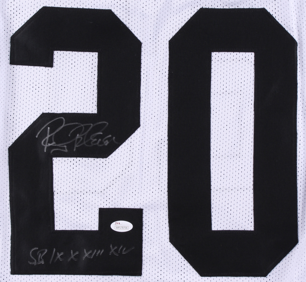 fc57e03b57c Rocky Bleier Signed Steelers Jersey Inscribed