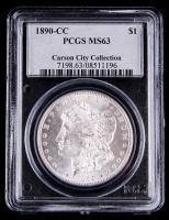 1890-CC Morgan Silver Dollar (PCGS MS 63)