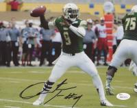 Quinton Flowers Signed South Florida Bulls 8x10 Photo (JSA COA) at PristineAuction.com