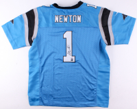 Cam Newton Signed Panthers Jersey (GTSM COA & Newton Hologram)