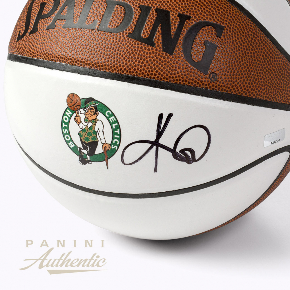 037ffc9fe91 Kyrie Irving Signed Boston Celtics White Panel Basketball (Panini COA) at  PristineAuction.com
