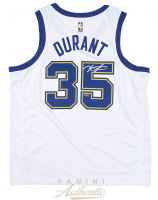 Kevin Durant Signed Golden State Warriors Throwback Jersey (Panini COA) at PristineAuction.com