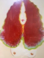 "Frank Gallo Signed 1974 Limited Edition #10/235 SUE"" 26x36  Custom Framed Serigraph (Circle Fine Art COA)"