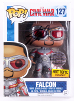 "Stan Lee Signed ""Falcon"" Marvel Funko Pop Figure (Lee Hologram) at PristineAuction.com"