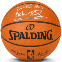 "Ben Simmons Signed LE Official NBA Game Ball Inscribed ""2016 #1 Pick"" (UDA COA) at PristineAuction.com"