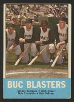 1963 Topps #18 Buc Blasters / Smoky Burgess / Dick Stuart / Bob Clemente / Bob Skinner