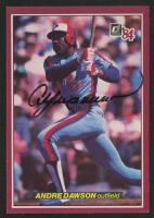 Andre Dawson Signed 1984 Donruss Action All-Stars #18 (JSA COA)
