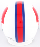 O.J. Simpson Signed Bills Throwback Full-Size Helmet (JSA COA & Simpson Hologram) at PristineAuction.com
