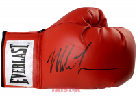 Mike Tyson Signed Everlast Boxing Glove (TriStar Hologram)