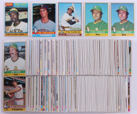 Lot of (420) 1976 Topps Baseball Cards With #6 Rennie Stennet, #7 Jim Umbarger, #8 Tito Fuentes, #9 Paul Linblad