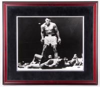 Muhammad Ali Signed 24x28 Custom Framed Photo Display (Steiner COA)