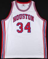 Hakeem Olajuwon Signed LE Houston Cougars Jersey Inscribed