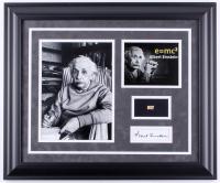 Albert Einstein Custom Framed 19.5x23.5 Display with (1) Hand-Written Word From Letter (JSA LOA)