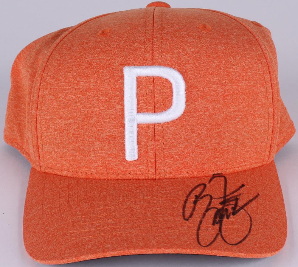 promo code 57612 1602f Rickie Fowler Signed Puma Adjustable Hat (JSA COA) at PristineAuction.com