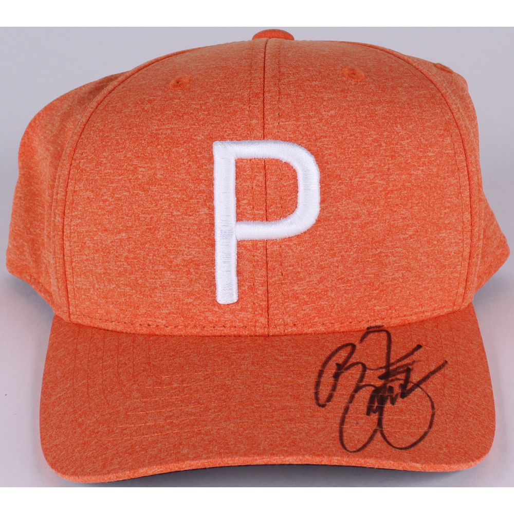 c40cdfa7 amazon ricky fowler signed puma hat jsa coa at pristineauction 1ed9d bfca7;  coupon code for hat jsa 100 authentic b30c8 94d7a online sports memorabilia  ...
