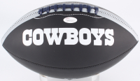 "Bob Lilly Signed Cowboys Logo Football Inscribed ""HOF 80"" (JSA COA) at PristineAuction.com"