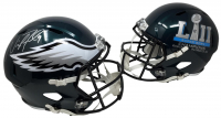 Nick Foles Signed Eagles Full-Size Super Bowl LII Speed Helmet (Fanatics)