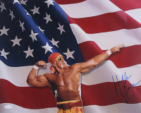 Hulk Hogan Signed 16x20 Photo (JSA COA)