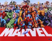 "Stan Lee Signed ""Marvel Universe"" 16x20 Photo (FSC COA)"