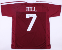 """Kenny Hill Signed Texas A&M Aggies Jersey Inscribed """"Gig em!"""" (JSA Hologram) at PristineAuction.com"""