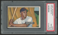 1951 Bowman #305 Willie Mays RC (PSA 8) (OC)