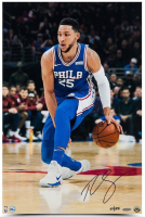 "Ben Simmons Signed Philadelphia 76ers ""Handle"" 16x24 Limited Edition Photo (UDA COA) at PristineAuction.com"