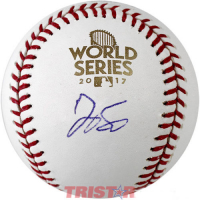George Springer Signed 2017 World Series Logo Baseball (TriStar Hologram) at PristineAuction.com