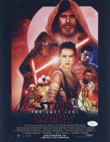 Star Wars The Last Jedi 11x14 Photo Signed By Rian Johnson & Andy Serkis (JSA COA)