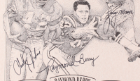 """Charley Taylor, Raymond Berry, & Lenny Moore Signed LE """"NFL Legends"""" 16x20 Lithograph (JSA COA) at PristineAuction.com"""